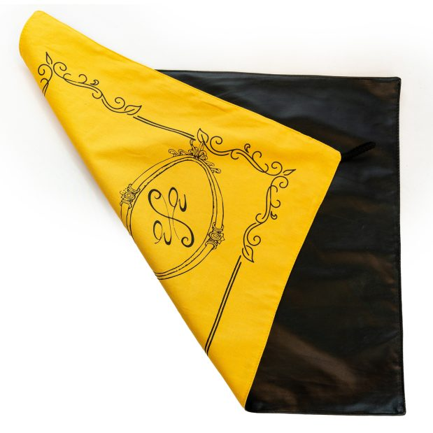 Seat Scarf Border with Side Logo – Ochre / Yellow
