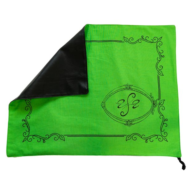 Seat Scarf Border with Side Logo – Green