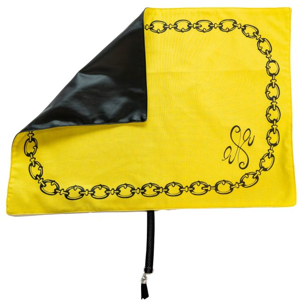 Seat Scarf Cable Chain with Side Logo – Citrus Yellow