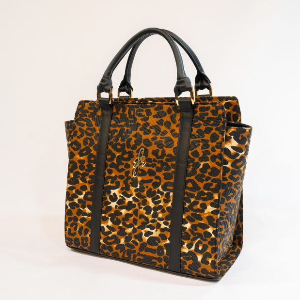 Leopard Print Antimicrobial Tote