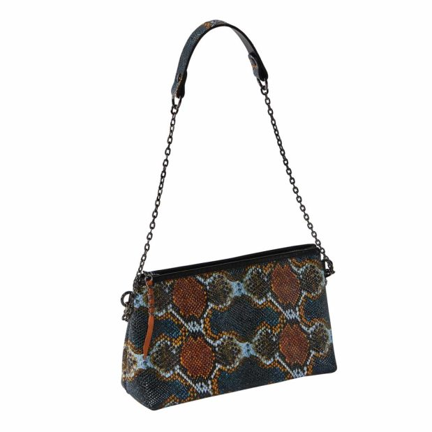 Multicolored Leather Bag / Crossbody